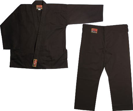 Black Bujinkan Martial Arts Gi